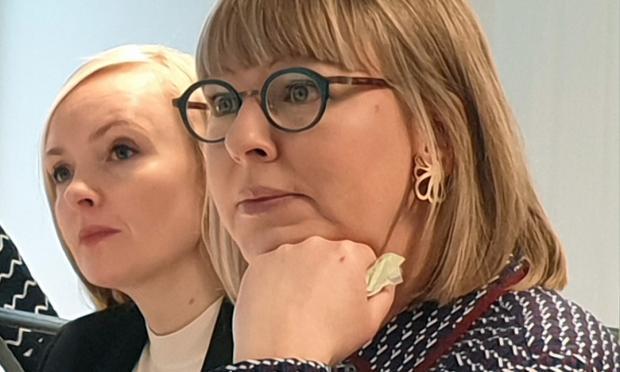 ministerit Maria Ohisalo ja Aino-Kaisa Pekonen